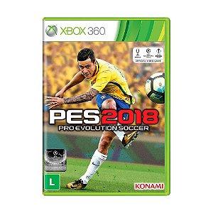 Jogo Pro Evolution Soccer 2018 (PES 2018) - Xbox 360