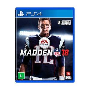 Jogo Madden NFL 18 - PS4