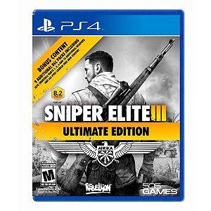 Jogo Sniper Elite III (Ultimate Edition) - PS4