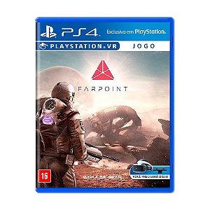 Jogo Farpoint - PS4 VR