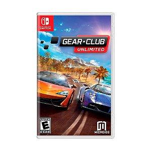 Jogo Gear.Club Unlimited - Switch