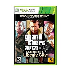 Jogo Grand Theft Auto IV - GTA 4 (The Complete Edition) - Xbox 360
