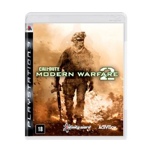 Jogo Call of Duty: Modern Warfare 2 (MW2) - PS3