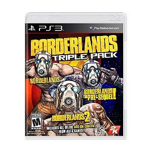 Jogo Borderlands Triple Pack - PS3