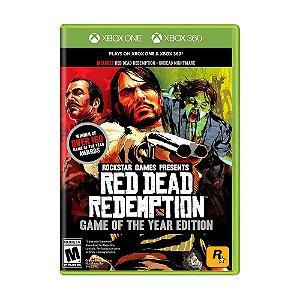 Jogo Red Dead Redemption (GOTY) - Xbox 360 e Xbox One