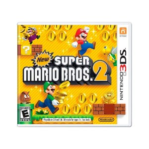 Jogo New Super Mario Bros 2 - 3DS