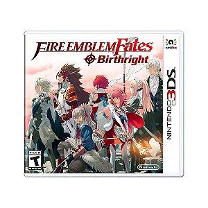 Jogo Fire Emblem Fates: Birthright - 3DS
