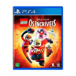 Jogo LEGO Disney•Pixar Os Incríveis - PS4