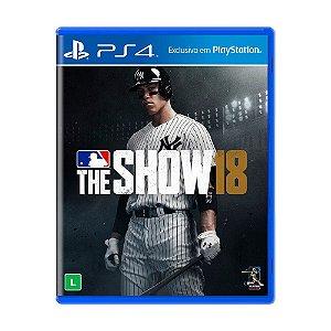 Jogo MLB The Show 18 - PS4