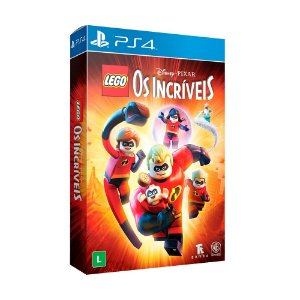 Jogo LEGO Disney•Pixar Os Incríveis (Edição Especial) - PS4