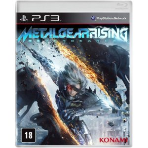 Jogo Metal Gear Rising: Revengeance - PS3