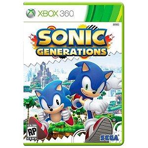 Jogo Sonic Generations - Xbox 360
