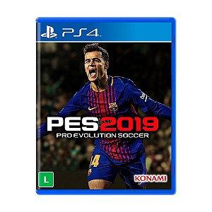 Jogo Pro Evolution Soccer 2019 - PS4