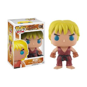 Boneco Ken 138 Street Fighter - Funko Pop