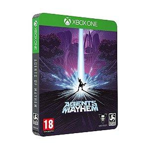 Jogo Agents of Mayhem (Steelbook Edition) - Xbox One