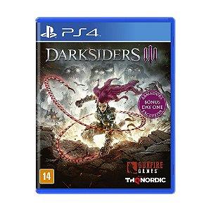 Jogo Darksiders III (Edição de Lançamento) - PS4