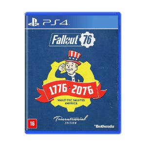 Jogo Fallout 76 (Edição Tricentenária) - PS4