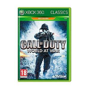 Jogo Call of Duty: World at War - Xbox 360 (Europeu)