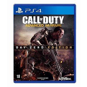 Jogo Call of Duty: Advanced Warfare (Edição Day Zero) - PS4