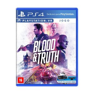 Jogo Blood & Truth - PS4 VR