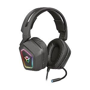 Headset Gamer Trust GXT Blizz 7.1 RGB com fio - PC
