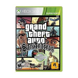 Jogo Grand Theft Auto: San Andreas - Xbox 360