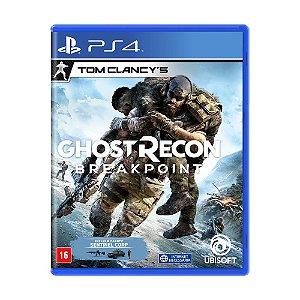 Jogo Tom Clancy's Ghost Recon Breakpoint (Edição de Lançamento) - PS4