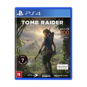 Jogo Shadow of Tomb Raider (A Definitive Edition) - PS4