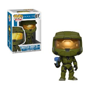Boneco Master Chief (w/ Cortana) 07 Halo - Funko Pop!