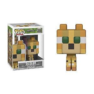 Boneco Ocelot 318 Minecraft - Funko Pop!
