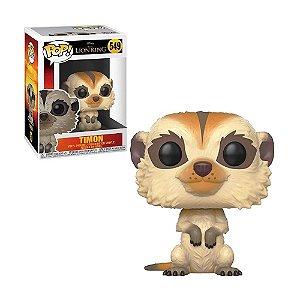 Boneco Timon 549 Disney O Rei Leão - Funko Pop!
