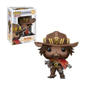 Boneco McCree 182 Overwatch - Funko Pop!