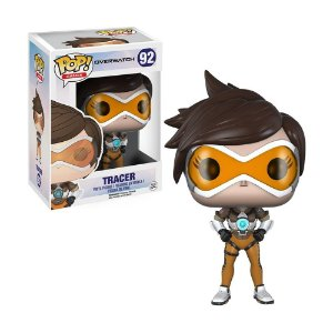 Boneco Tracer 92 Overwatch - Funko Pop! Games