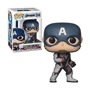 Boneco Capitão America 450 Marvel Avengers - Funko Pop!