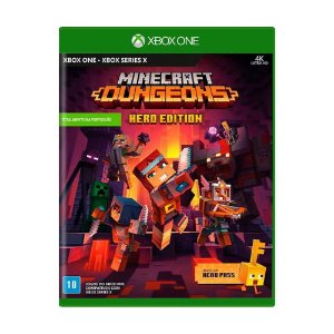 Jogo Minecraft Dungeons (Hero Edition) - Xbox One