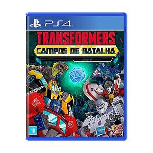 Jogo Transformers: Campo de Batalha - PS4