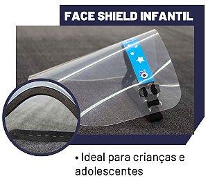 Máscara de Proteção Face Shield Comfort Infantil