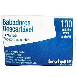 BABADOR DESCARTAVEL PCTE 100 - BRANCO-BE Lote: BC163/20