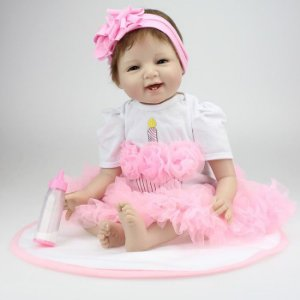 Bebe Reborn Lucy Linda Boneca