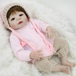 Bebe Reborn Maria Clara Toda de Silicone