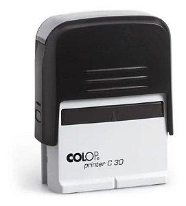 Carimbo Automático Colop 30  (17 x 47 mm)