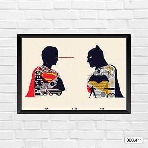 Quadro - Batman & Superman