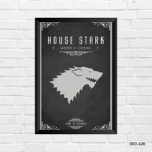 Quadro - Game Of Thrones - House Stark