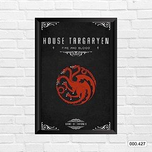 Quadro - Game Of Thrones - House Targaryen