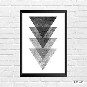 Quadro - Triangle Print