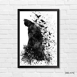 Quadro - Batman, Arte de pintura