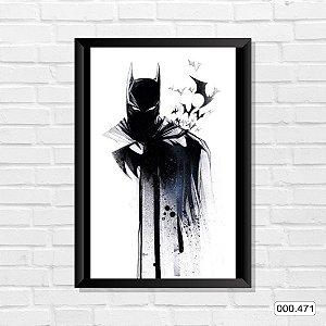 Quadro - Batman, Arte Desenho