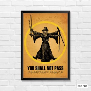 Quadro - You Shall Not Pass