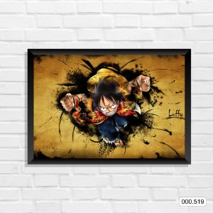 Quadro - One Piece - Luffy