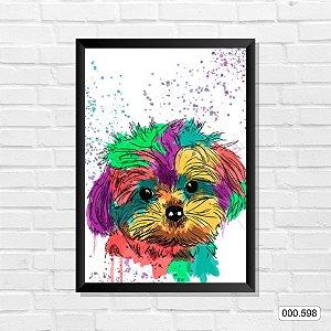 Quadro - Cachorro, Arte 01